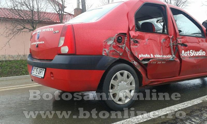 accident oraseni, tractor, dacia logan (2)