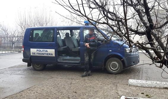 politia de frontiera masina