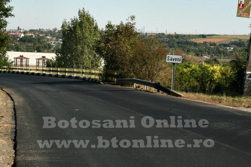 Saveni, drum asfaltat (5)