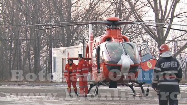 ambulanta, elicopter smurd, barbat cu arsuri (7)