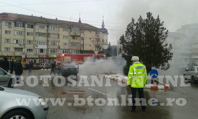 masina incendiu botosani (3)