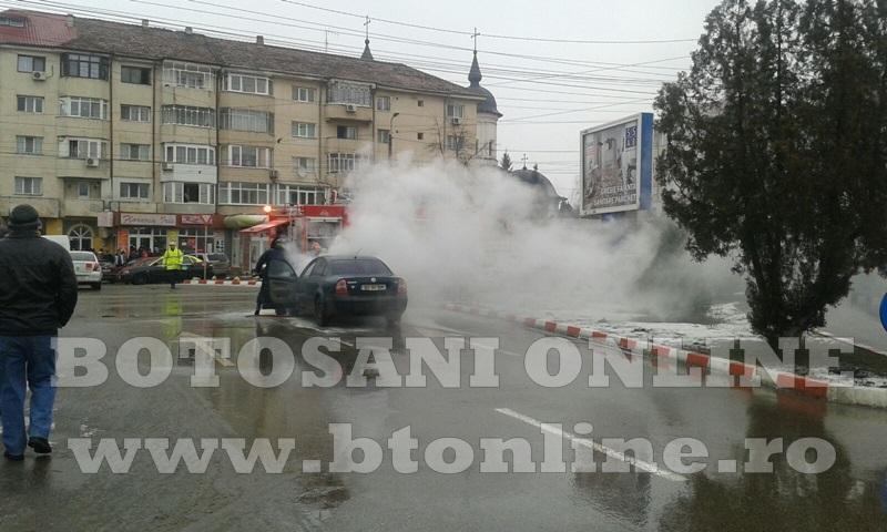 masina incendiu botosani (6)