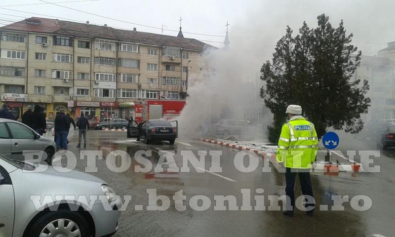 masina incendiu botosani (7)