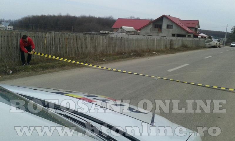 Accident masina politie (2)