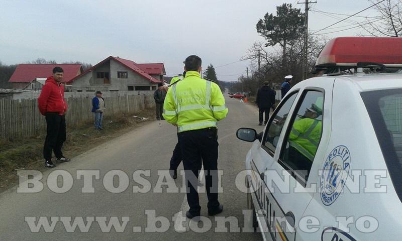 Accident masina politie (3)