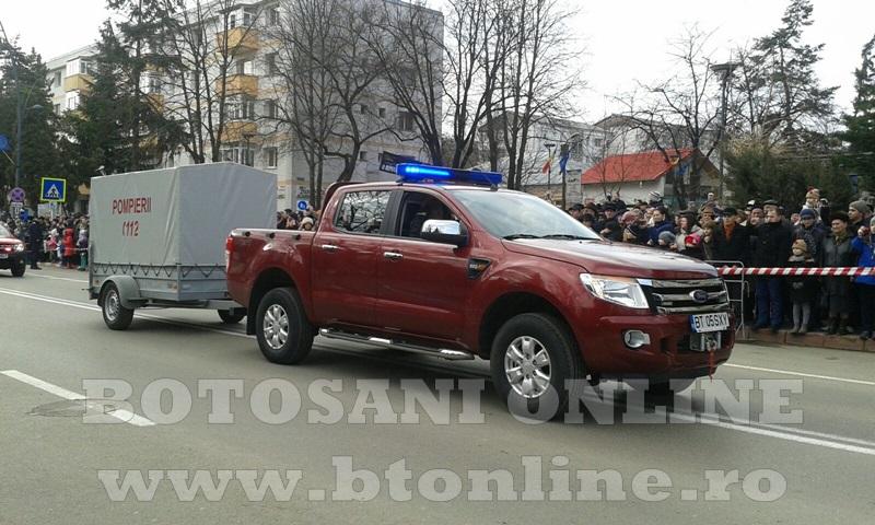 ISU Botosani, parada (3)