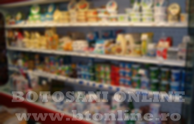 magazin raft produse lactate