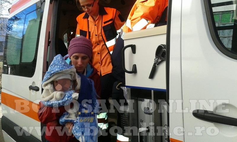 pediatrie, copil intoxicat cu nitriti la botosani (5)