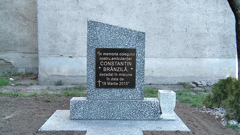 monument funerar sofer ambulanta
