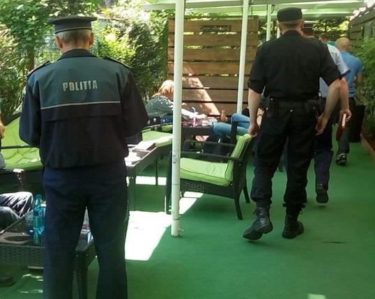 politie in baruri si terase