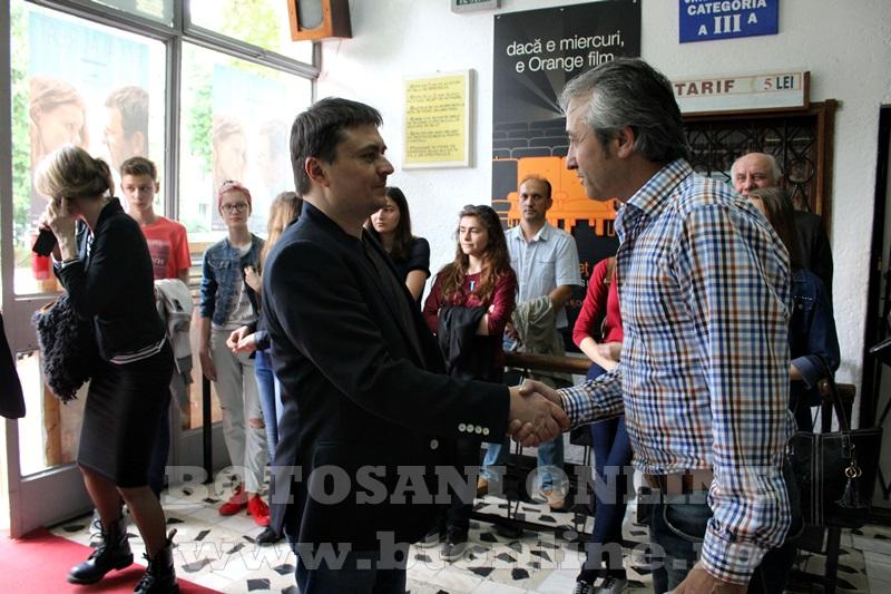 premiera filmului Bacalaureat, Cristian Mungiu, Cinema Unirea Botosani (20)