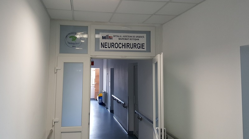 spital, sectie neurochirurgie