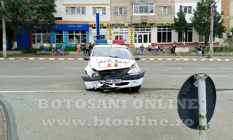 accident masina politie (1)