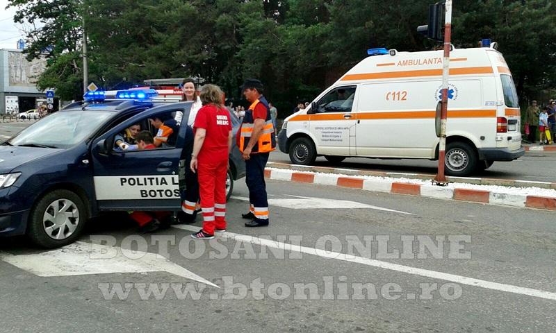 accident masina politie (4)