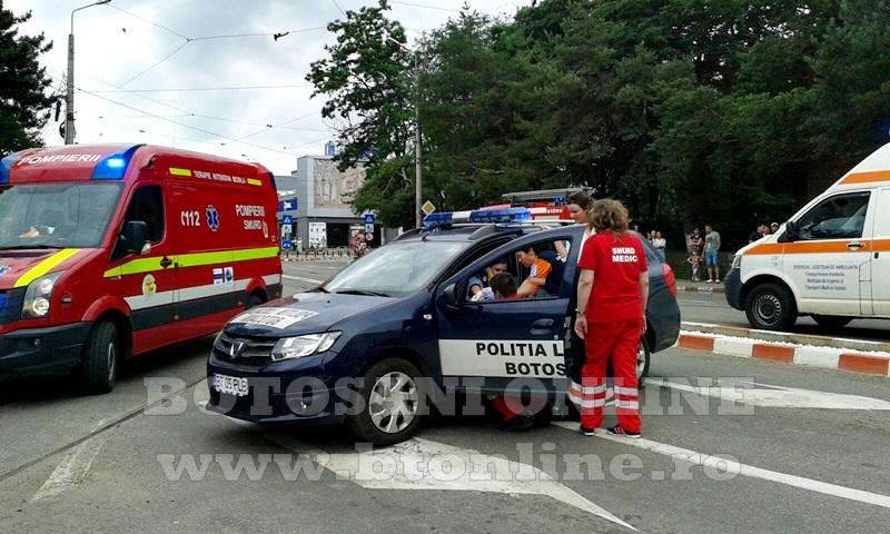 accident masina politie (7)