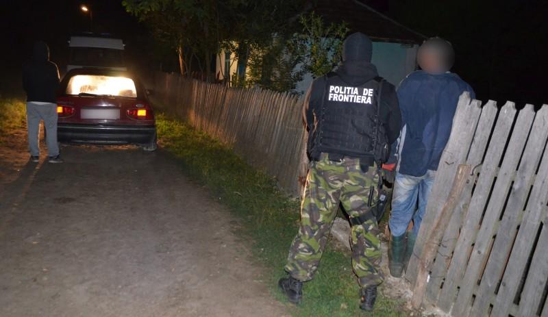 politia de frontiera contrabandisti