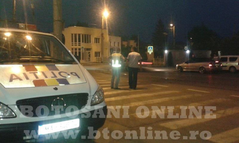 masina politie, trecere pietoni (1)
