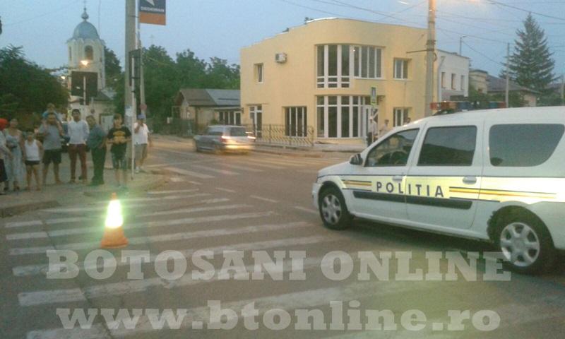masina politie, trecere pietoni (3)