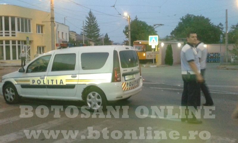 masina politie, trecere pietoni (4)