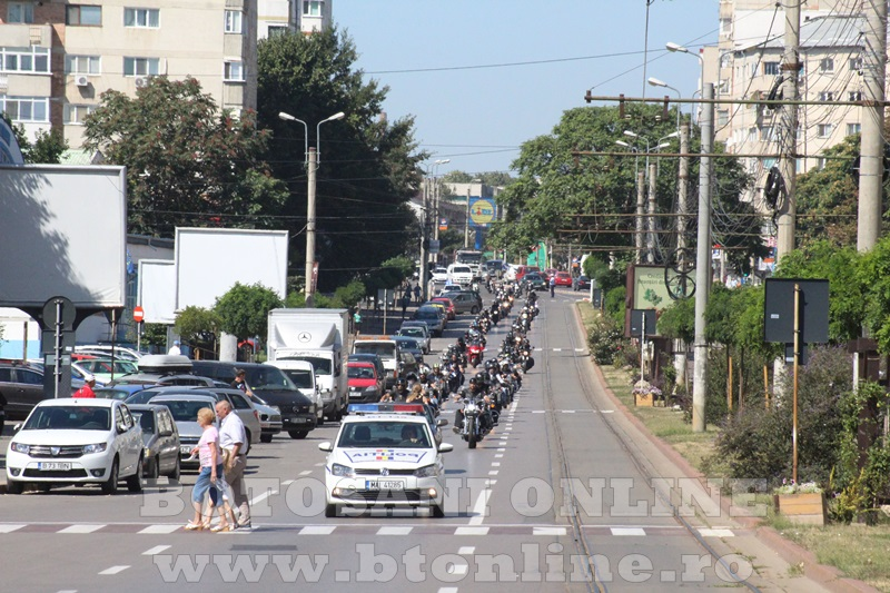 parada motociclisti in Botosani (2)