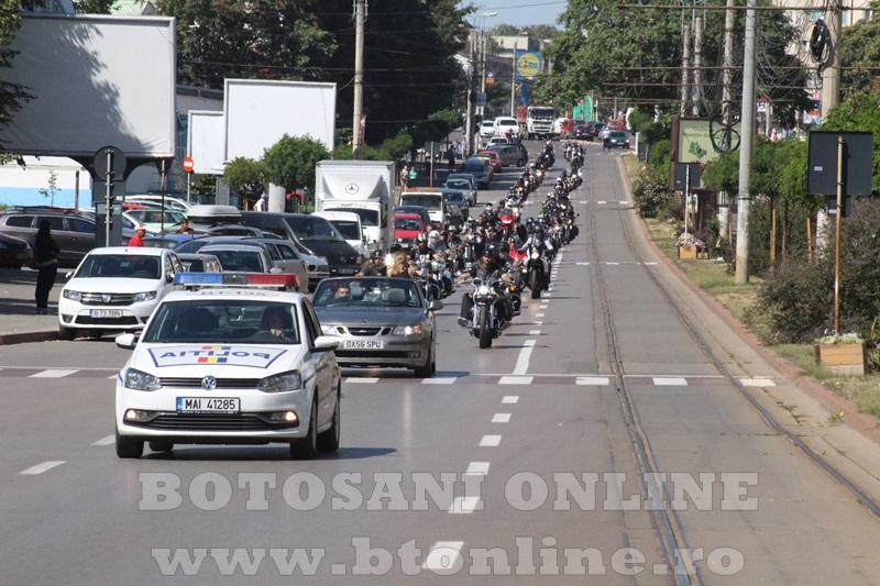 parada motociclisti in Botosani (3)