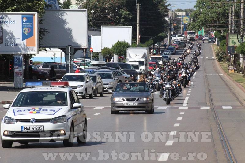 parada motociclisti in Botosani (4)