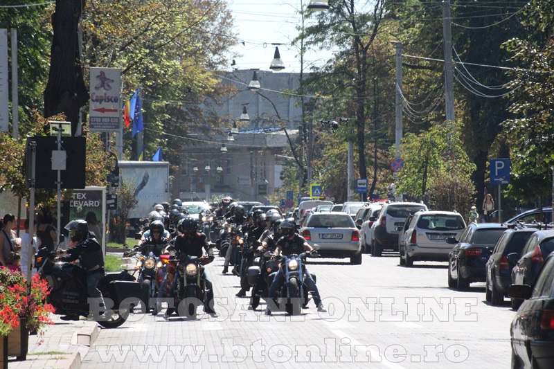 parada motociclisti in Botosani (6)
