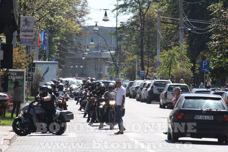 parada motociclisti in Botosani (7)
