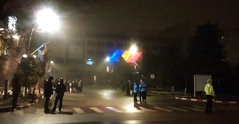 Botosani, protest 6 februarie