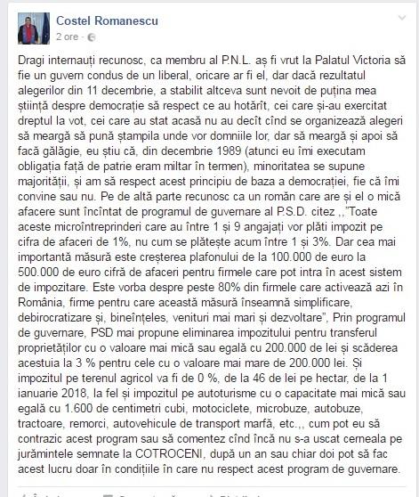 romanescu facebook
