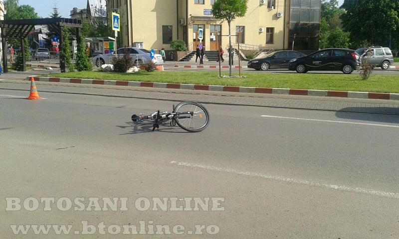 accident calea nationala botosani, biciclist (10)