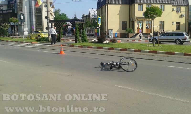 accident calea nationala botosani, biciclist (11)