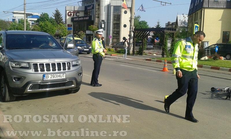 accident calea nationala botosani, biciclist (12)