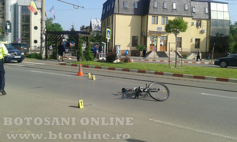 accident calea nationala botosani, biciclist (7)