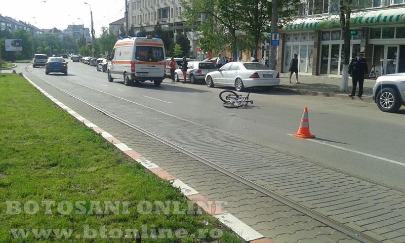 accident calea nationala botosani, biciclist (8)