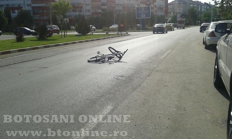 accident calea nationala botosani, biciclist (9)