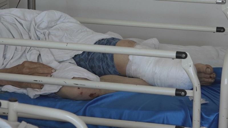 spital pacient cu piciorul taiat1
