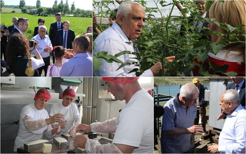 Petru Daea, ministrul Agriculturii, in judetul Botosani (0)