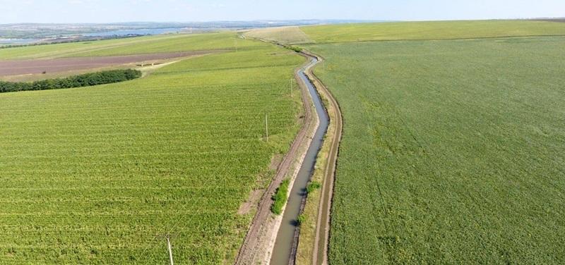 terenuri agricole canal irigatii