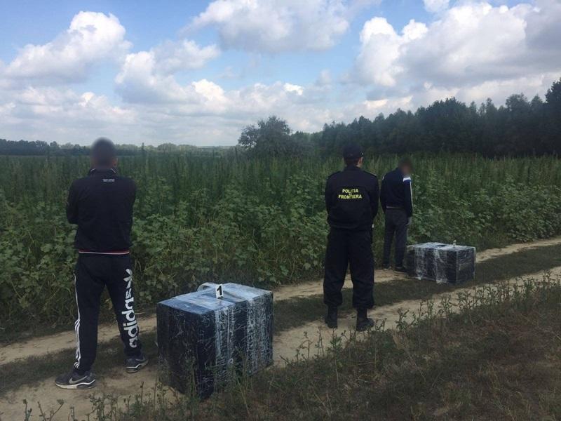 politia de fontiera contrabandisti tigari (4)