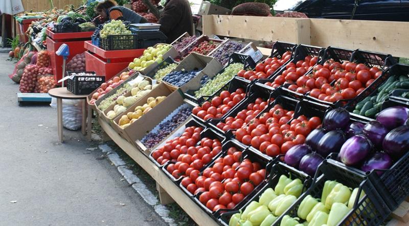 Targ Popauti legume fructe