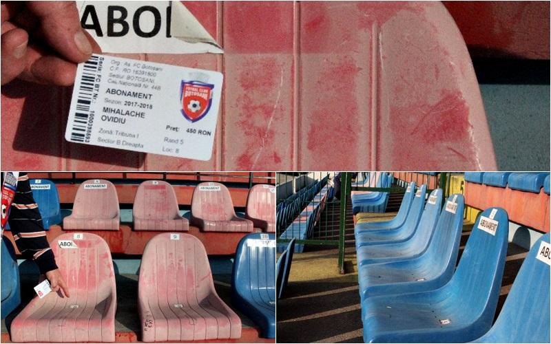 scaune stadion, abonati (0)